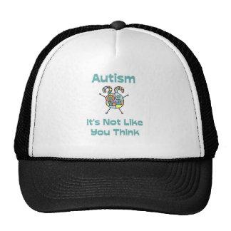 Autismo: No es como usted piensa Gorro De Camionero