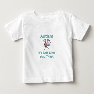Autismo: No es como usted piensa Playera De Bebé