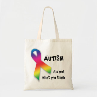 Autismo: no qué usted piensa el bolso bolsa