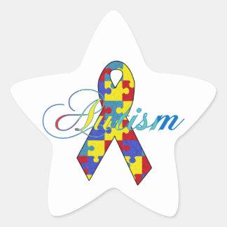 Autismo Pegatina En Forma De Estrella
