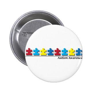 Autismo Pin Redondo 5 Cm