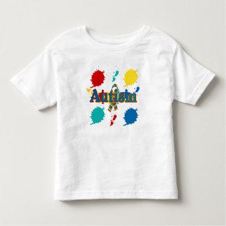 Autismo pintado tshirt