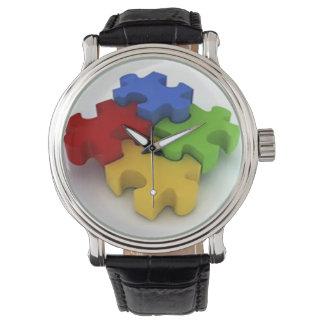 Autismo/reloj del síndrome de Aspergers Reloj
