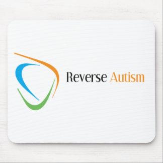Autismo reverso alfombrillas de ratón