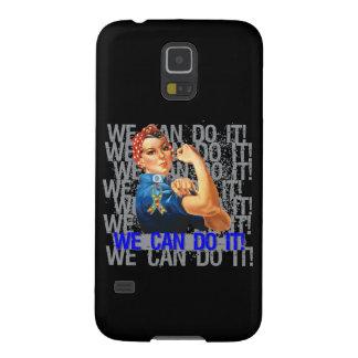 Autismo Rosie PODEMOS HACERLO Fundas Para Galaxy S5