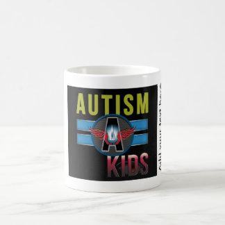 Autismo un blanco 325 ml Mug* blanco clásico de Taza Clásica