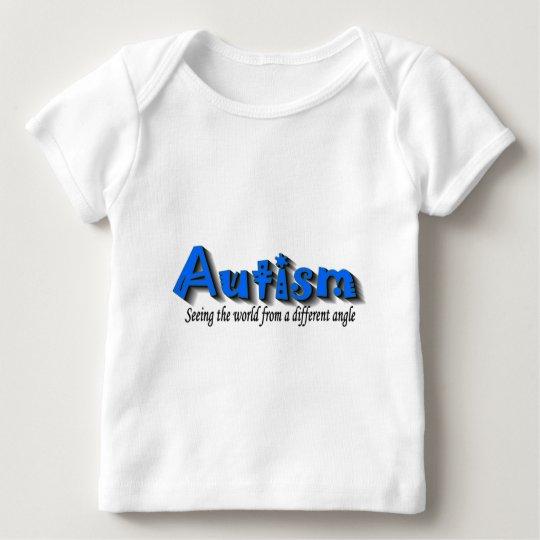 Autismo uno cada 20 minutos playera de bebé