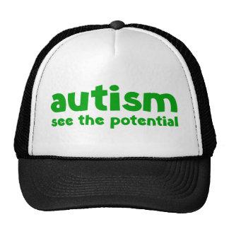 Autismo - vea el potencial gorro