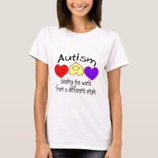Autismo, viendo el mundo de un diverso ángulo playera