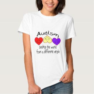 Autismo, viendo el mundo de un diverso ángulo remera