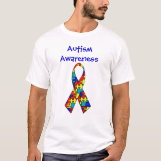 autismribbon, Autism Awareness T-Shirt