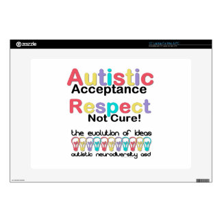 Autistic Acceptance Respect Not Cure Laptop Skin