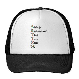 Autistic Acrostic Poem Puzzle Piece Hats