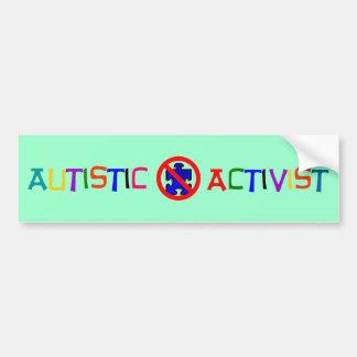 Autistic Activist Bumper Sticker