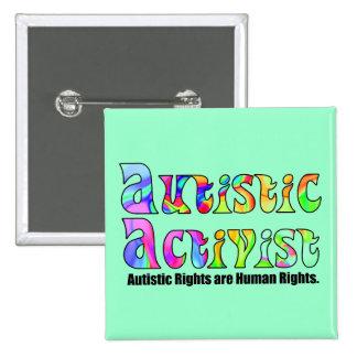 Autistic Activist Buttons