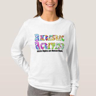 Autistic Activist (Color) Shirts