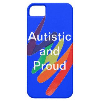 Autistic and Proud phone case