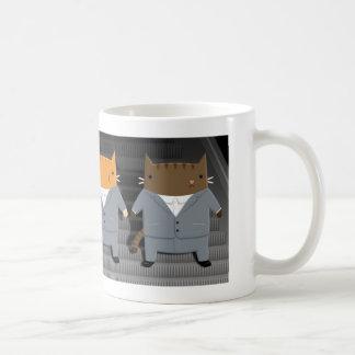Autistic Cat Classic White Coffee Mug