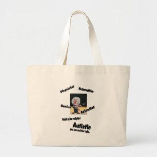 Autistic Einstien Tote Bag