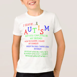 ~Autistic Friendz~Silent Friendships! =) T-Shirt