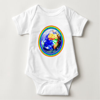 Autistic Home Planet Baby Bodysuit