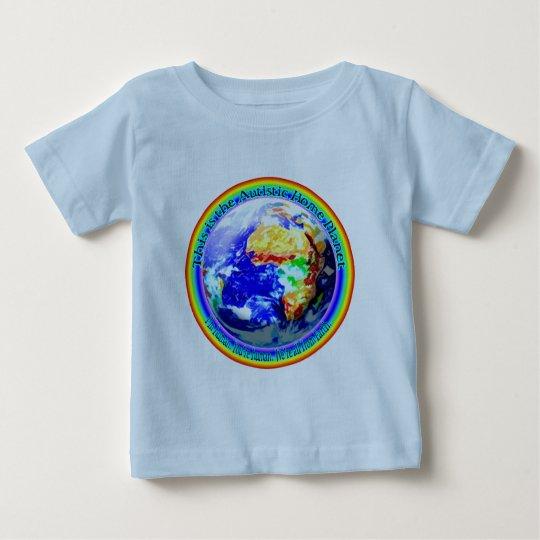 Autistic Home Planet Infant T-Shirts