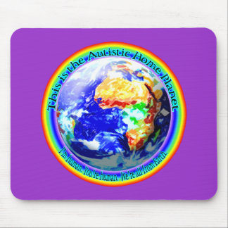 Autistic Home Planet Mousepad