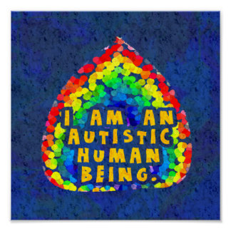 Autistic Human Poster