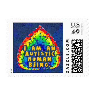 Autistic Human Stamps