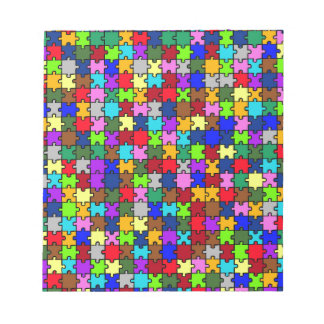 Autistic Jigsaw Notepad