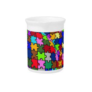 Autistic Jigsaw Warp Pitcher