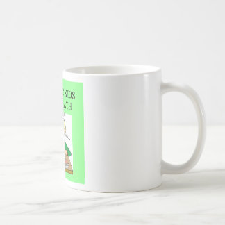 autistic kids love math classic white coffee mug