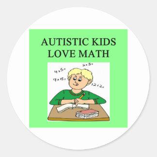 autistic kids love math stickers