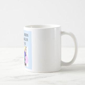 autistic kids love roller skating classic white coffee mug