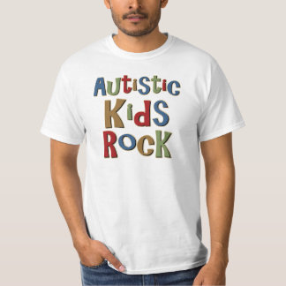 Autistic Kids Rock Tee Shirts and Gifts
