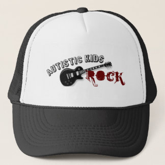 Autistic Kids Rock Trucker Hat