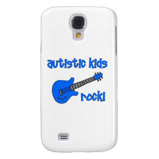 Autistic Kids Rock with Guitar (multiple colors) Galaxy S4 Case