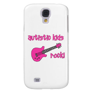 Autistic Kids Rock with Guitar (multiple colors) Galaxy S4 Cases