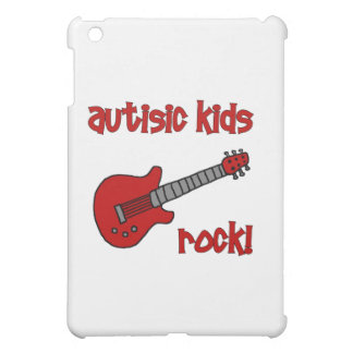 Autistic Kids Rock with Guitar (multiple colors) iPad Mini Cases