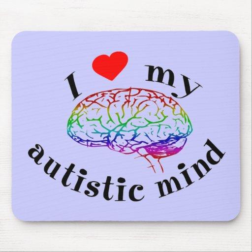 Autistic Mind Mousepad