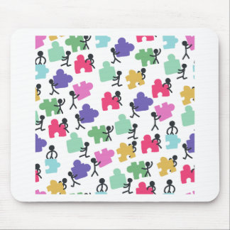 autistic people mouse pad