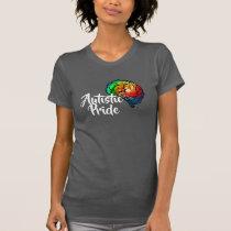 Autistic Pride Rainbow Brain T-Shirt