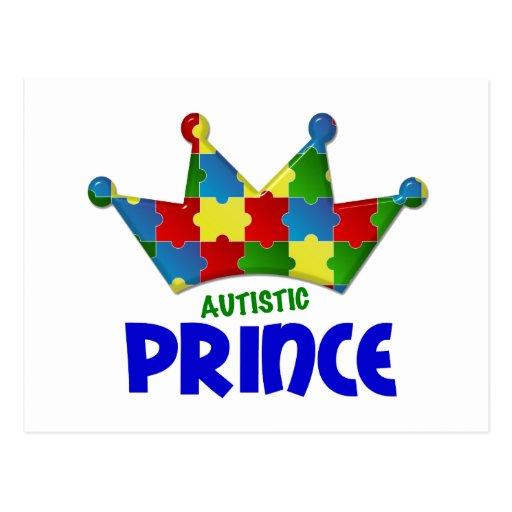 Autistic Prince 1 AUTISM Postcard