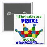 Autistic Prince 2 AUTISM Button