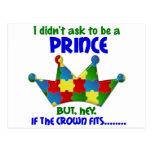 Autistic Prince 2 AUTISM Postcard