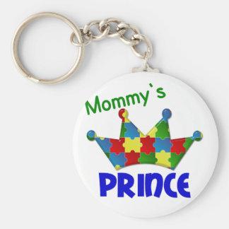 Autistic Prince 3 AUTISM Keychain