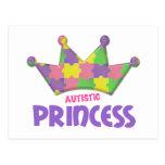 Autistic Princess 1 AUTISM Postcard