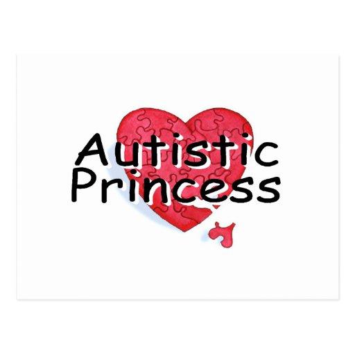 Autistic Princess Post Card