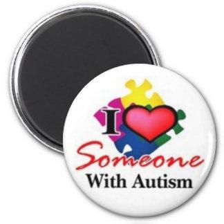 autistic someone refrigerator magnet