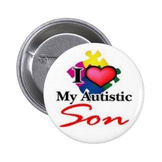 autistic son pin